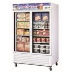 Austune 2 Glass Door Upright Colorbond Display Freezer